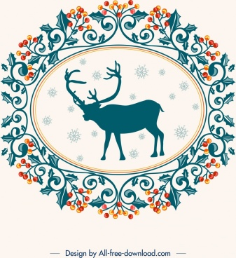 decorative background christmas theme elegant classical decor
