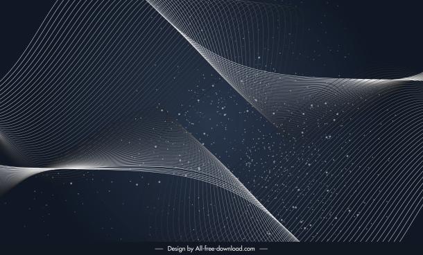 decorative background dark modern 3d motion design
