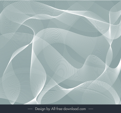 decorative background dynamic 3d lines modern design