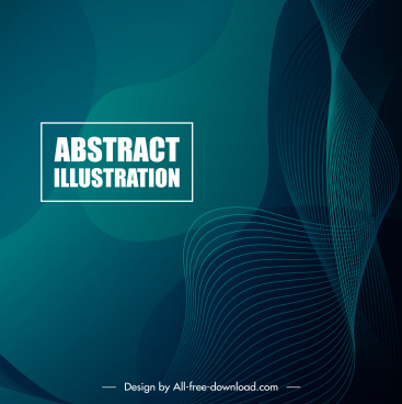 decorative background dynamic curved lines dark abstract design