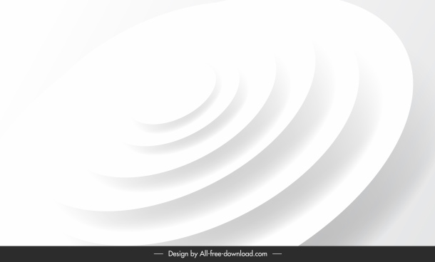 decorative background template dynamic white circle stairs shapes