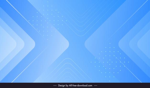 decorative background template elegant symmetric geometric blue decor