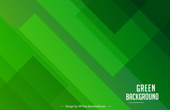 decorative background template modern flat green monochrome