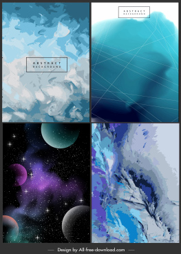 decorative backgrounds modern abstract space geometric decor