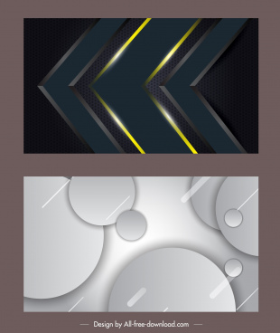 decorative backgrounds shiny modern dark bright geometric decor