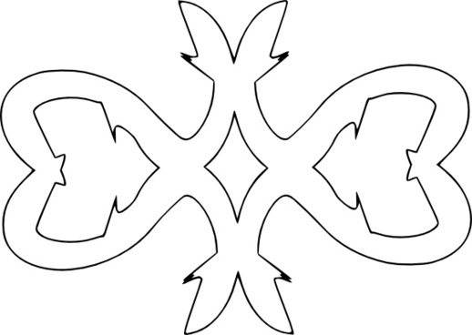 Decorative Border Outline clip art