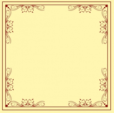 decorative border template classical symmetric repeating design