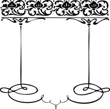 Decorative Frame clip art
