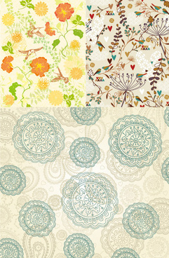 decorative pattern background design vector