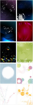 decorative pattern bubble background 2