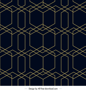 decorative pattern illusive flat lines symmetric design