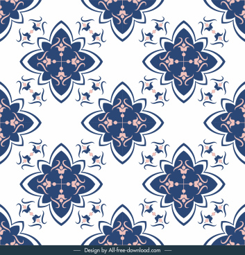 decorative pattern template european repeating classic symmetry