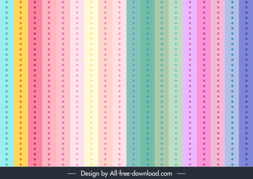 decorative pattern template flat vertical pastel lines