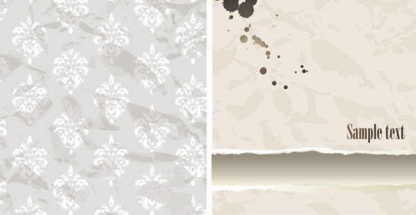 decorative pattern wallpaper background vector