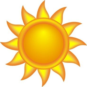 Decorative Sun clip art