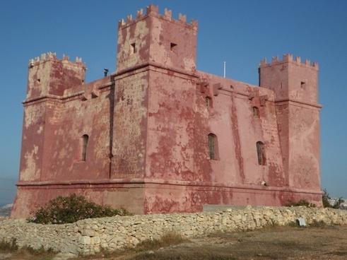 defense masonry castle