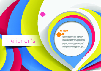 delicate abstract background vector graphics