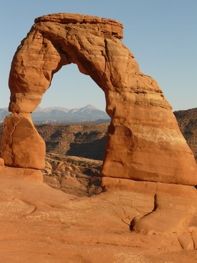 delicate arch arches national park usa