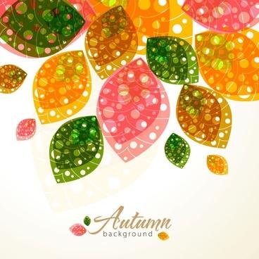 Delicate leaf pattern 02 vector