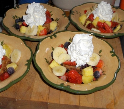 delicious fruit salad