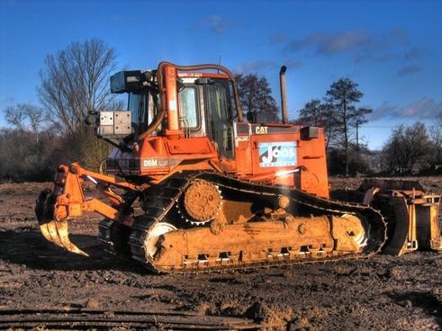 demolition work excavators