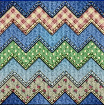 denim fabric seamless vector pattern