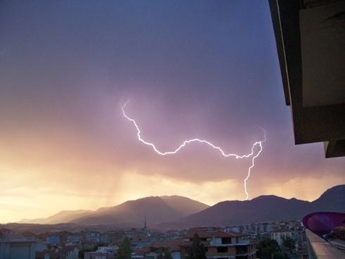 denizli lightning