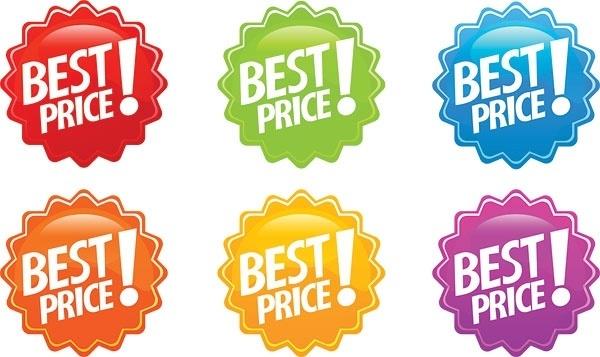 dentate circular icon vector discount