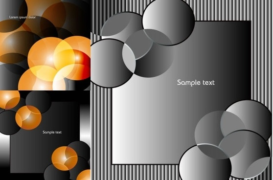 department circular elements elegant vector background