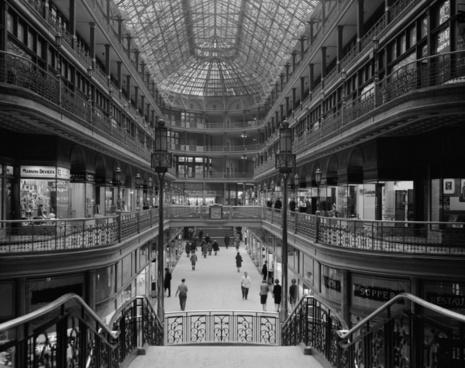 department store shopping centre arcades