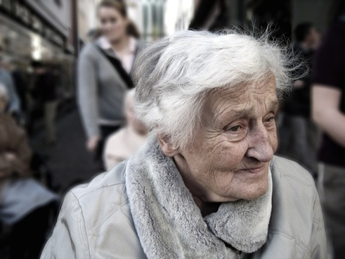 dependent dementia woman