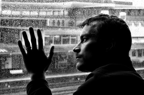 depression loneliness man