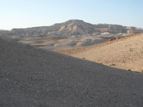 desert dead sea hot