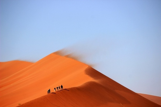desert dune holiday people rural sand vacation