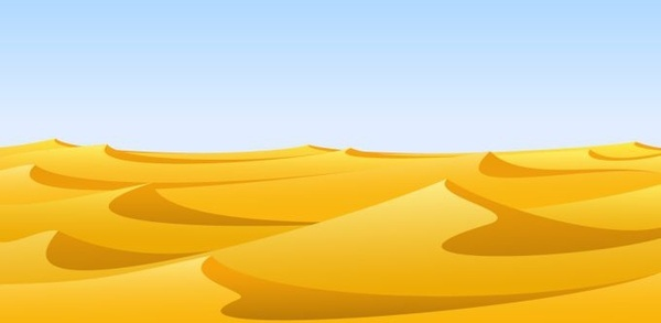 desert background yellow sand dune decor