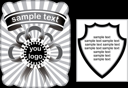 design elements for packing vector