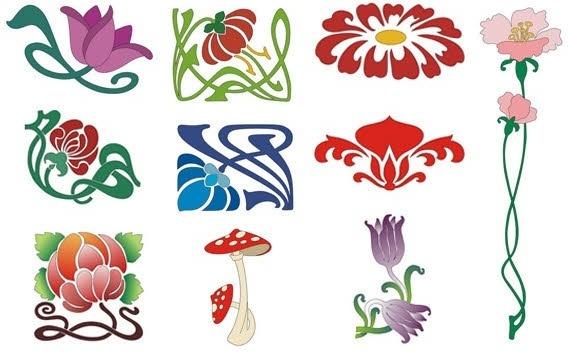 Design elementslotus flower nature