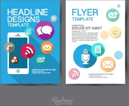 design of a template flyer