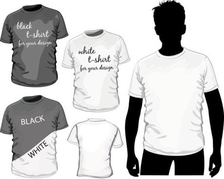 Design Set Of Shirts Vector Template