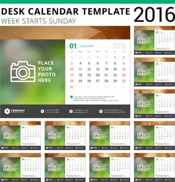 Desk Calendar Vector Free Vector Download 1682 Free Vector For