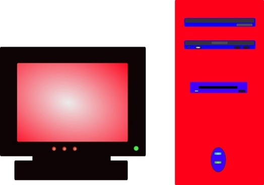 Desktop Pc clip art