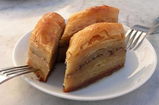 dessert baklava puff pastry