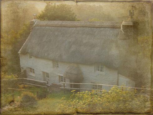devon cottage textured