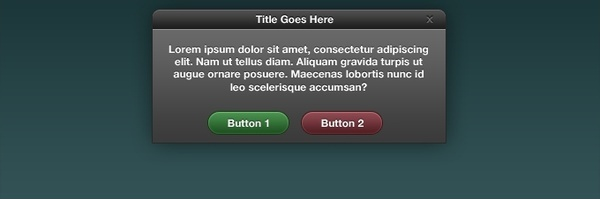 Dialog Box Interface