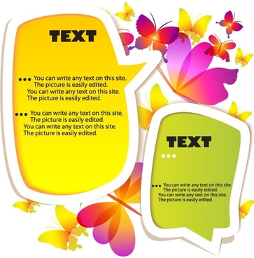 dialog box label 01 vector