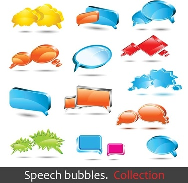 dialogue bubble logo vector