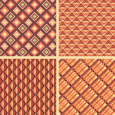 diamond and line pattern collection