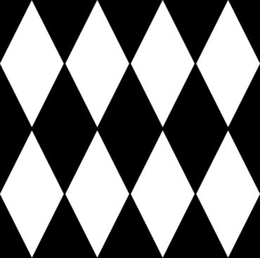Diamond Harlequin 1 Pattern clip art