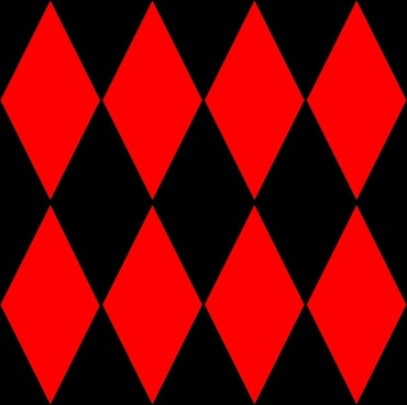 Diamond Harlequin 2 Pattern clip art