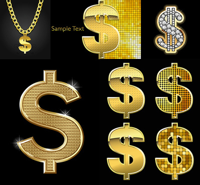 diamond money symbol vector